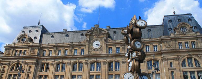 Gare Saint Lazare à Paris