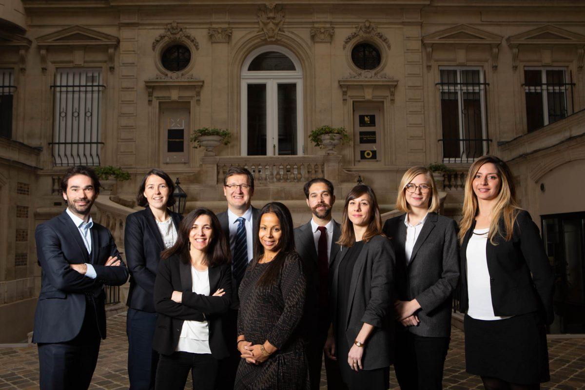 Équipe du cabinet d'avocats Bazin & Cazelles
